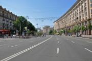 Во время праздников Крещатик будет пешеходным