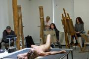 Игги Поп позировал обнаженным для социальных художников